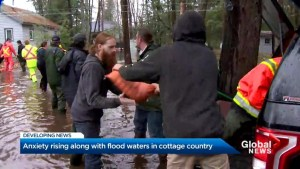 Ontario's cottage country sees floodwaters rise